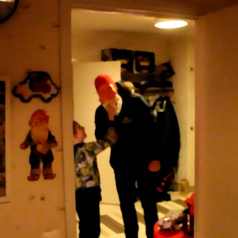 Gnarp S-vägen, en extra julafton på Nyårsafton, 31 december 2013