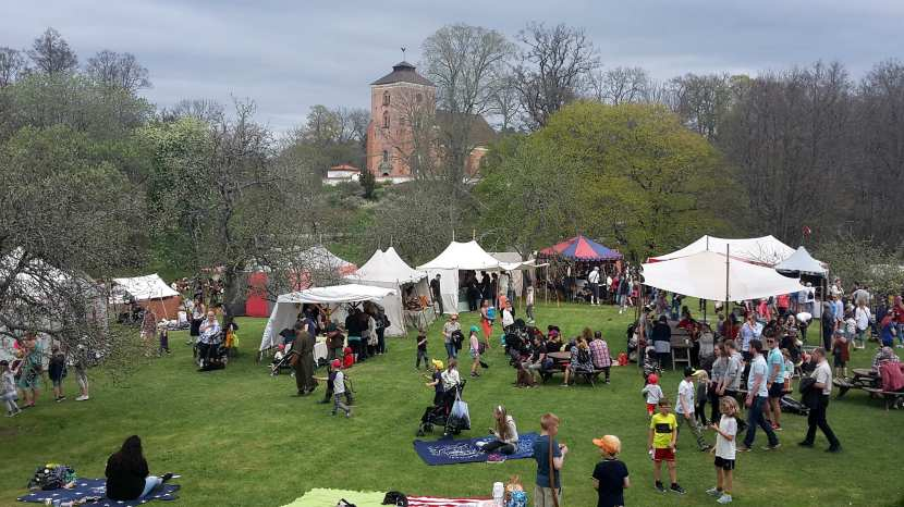 Tyresö, medeltidsmarknad, 20 maj 2017