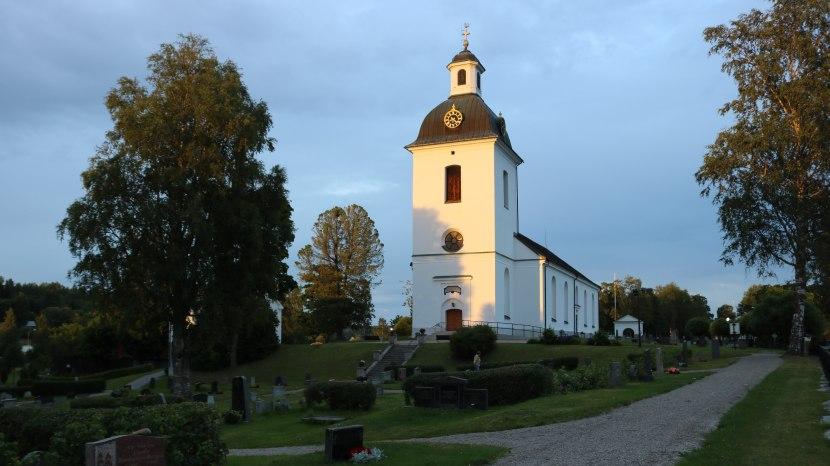 Gnarp, kyrkan, 12 augusti 2017