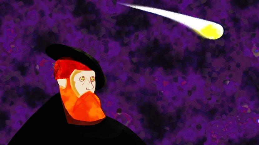 Fjärde versionen av kungen och kometen, 6 oktober 2017