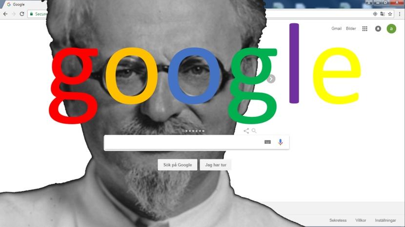 Förslag till illustration på google.com, 7 november 2017