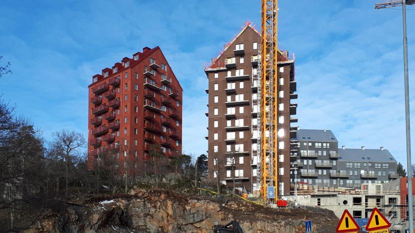 Eriksberg, bostadsbyggande, 17 februari 2018