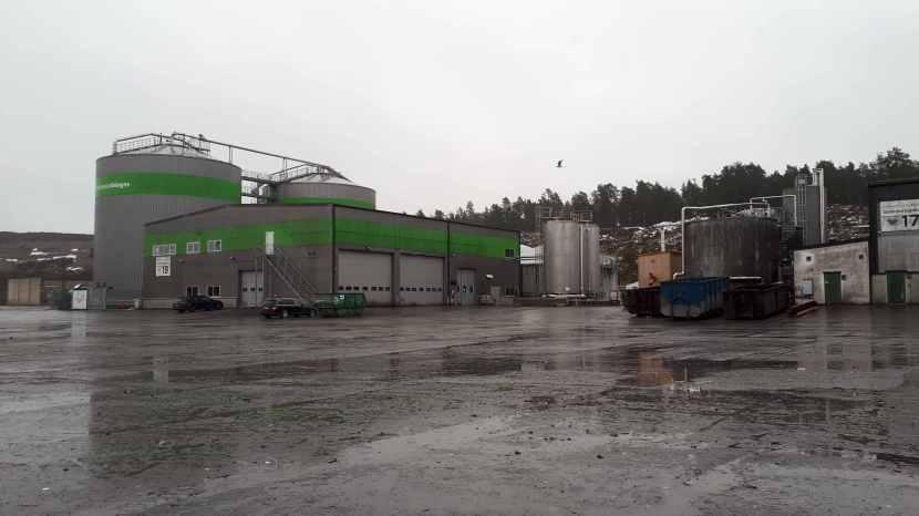 "Huddinge Gladö kvarn, ""Scandinavian Biogas"", 28 januari 2018"