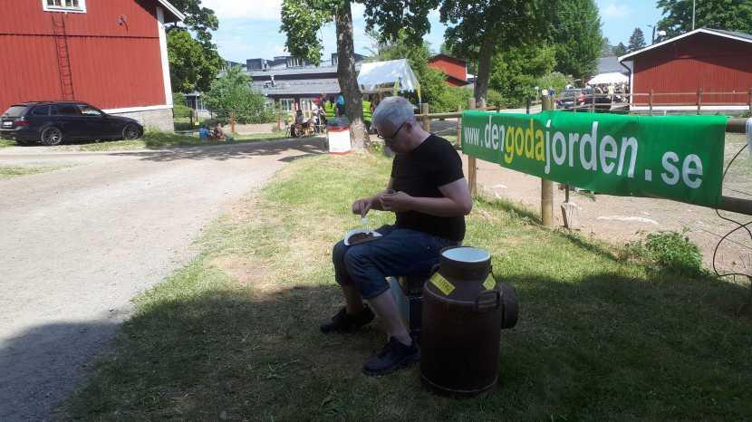 Haninge, kolbulle på Berga naturbruksgymnasium, 1 juni 2018
