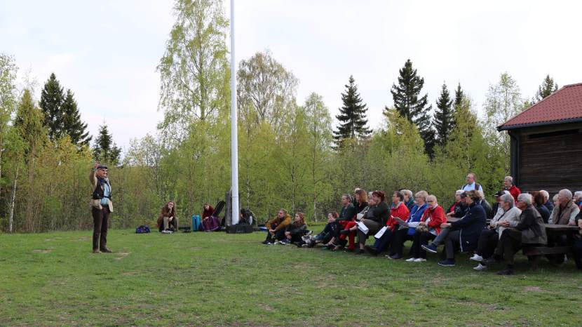 Gnarp Bersberget, Ermäss, 18 maj 2019