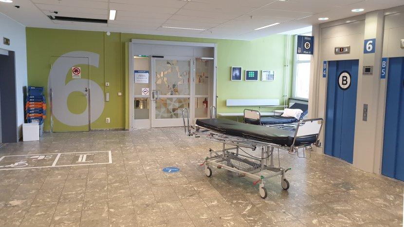 Stockholm, Södersjukhuset, 10 maj 2019