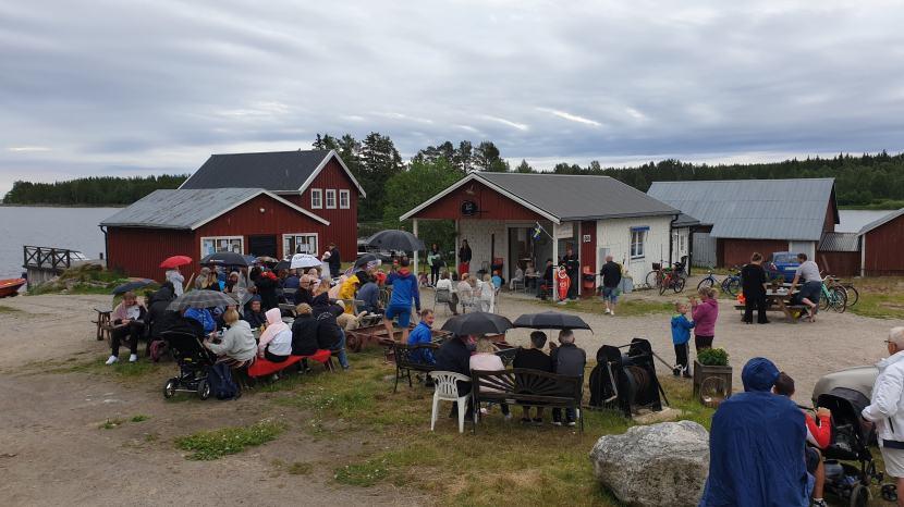 Gnarp Norrfjärden, musikkväll vid Café Skäret, 30 juni 2019