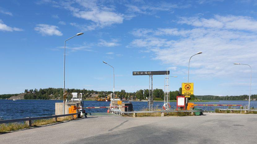 Mörkö, Skanssundet, 11 juli 2019