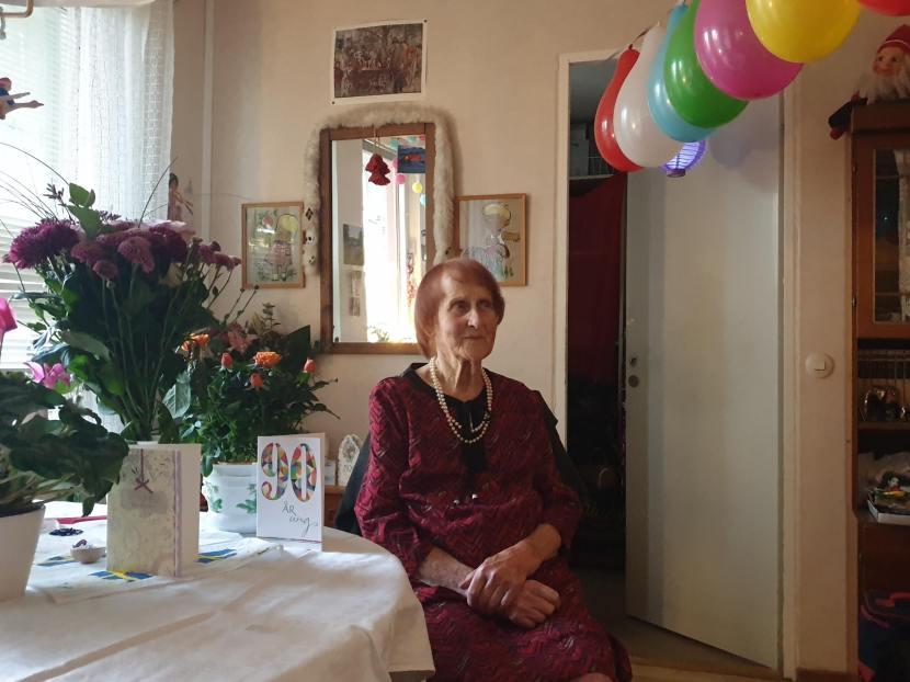 Nacka Orminge, mormor I:s 90-årskalas, 12 oktober 2019