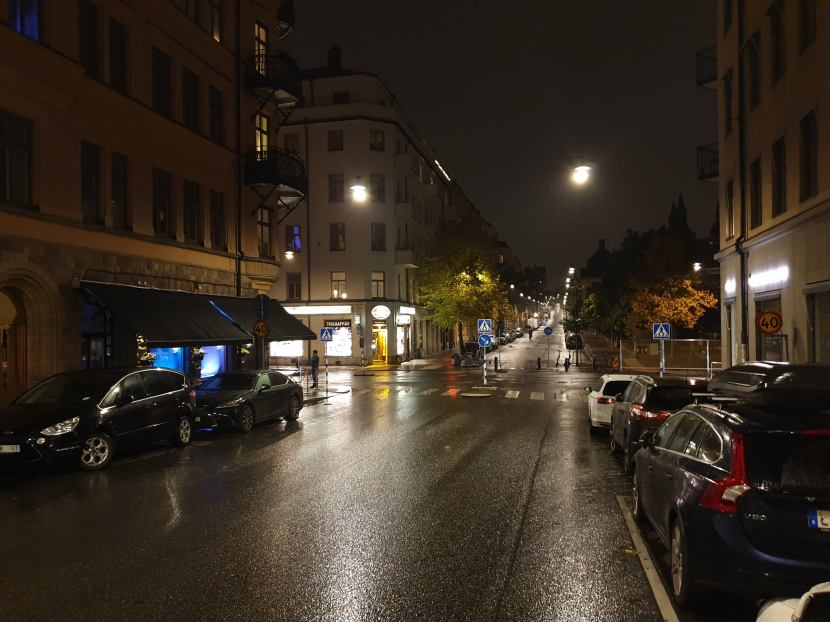 """Stockholm, vid restaurang """"Lokal"""" på Scheelegatan, 18 oktober 2019"""