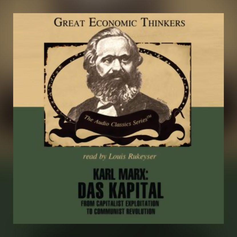 Storytel, -Karl Marx- Das Kapital-, 1 oktober 2019