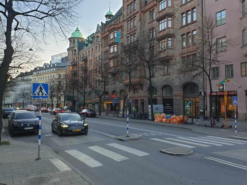Stockholm, Birger Jarlsgatan, 4 november 2019