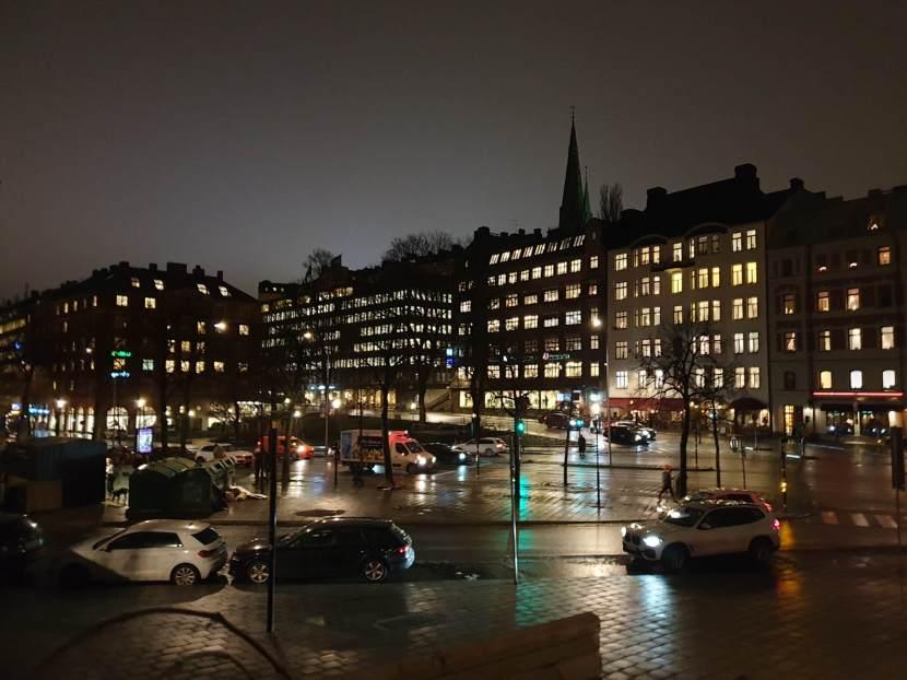 Stockholm, utsikt från Eriksbergsparken, 4 december 2019