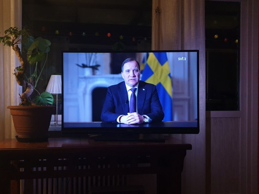 Från SVT2, Stefan Löfvén, 22 mars 2020