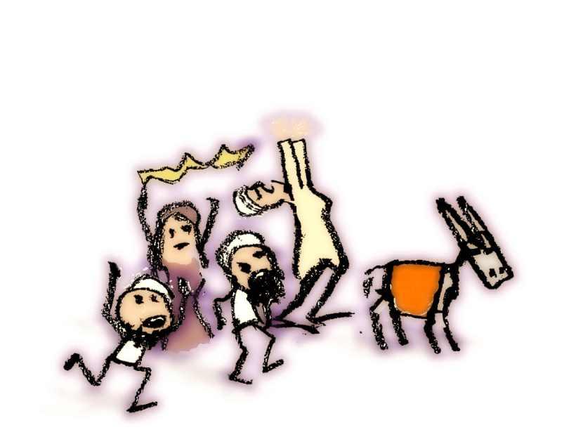 Huddinge M-vägen, teckning på Kristi flygare, 21 maj 2020