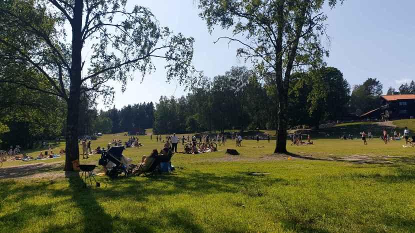 Botkyrka, Lida friluftsområde, 20 juni 2020