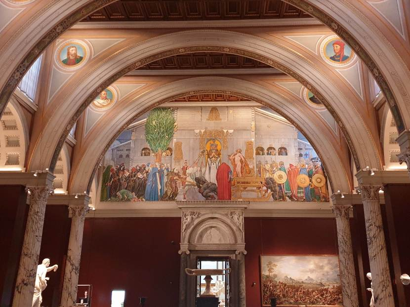Stockholm, Nationalmuseum, 17 oktober 2020