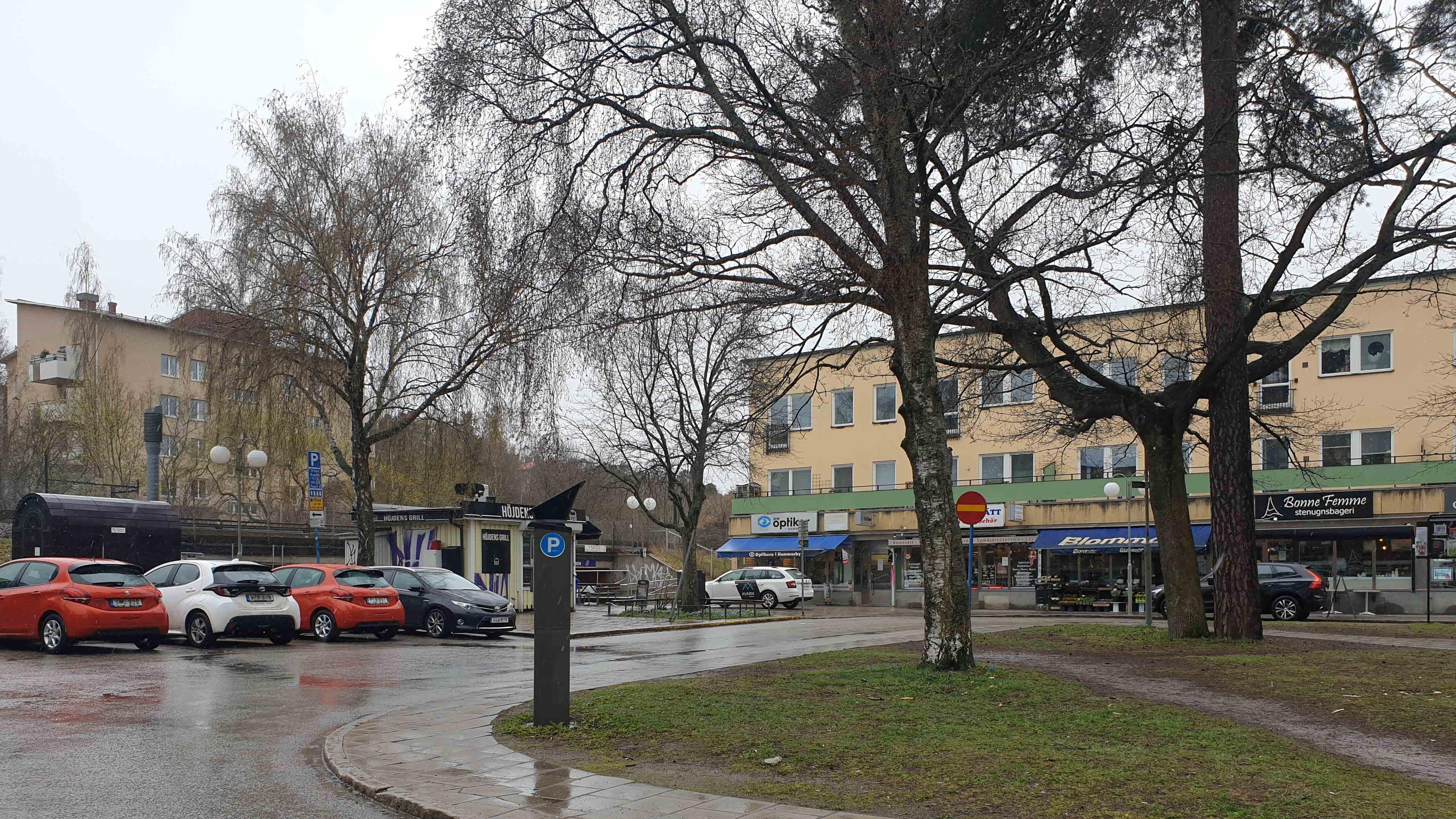 Stockholm Hammarbyhöjden, Finn Malmgrens plan, 22 april 2021