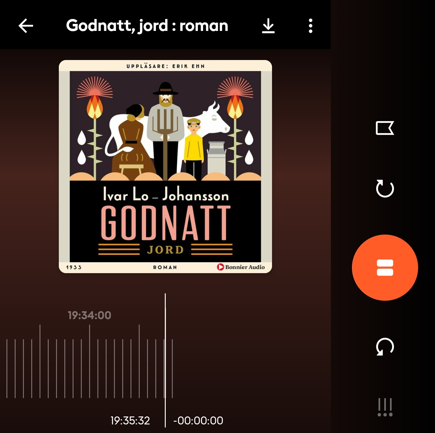 "Storytel, ""Godnatt, jord"", 1 maj 2021"