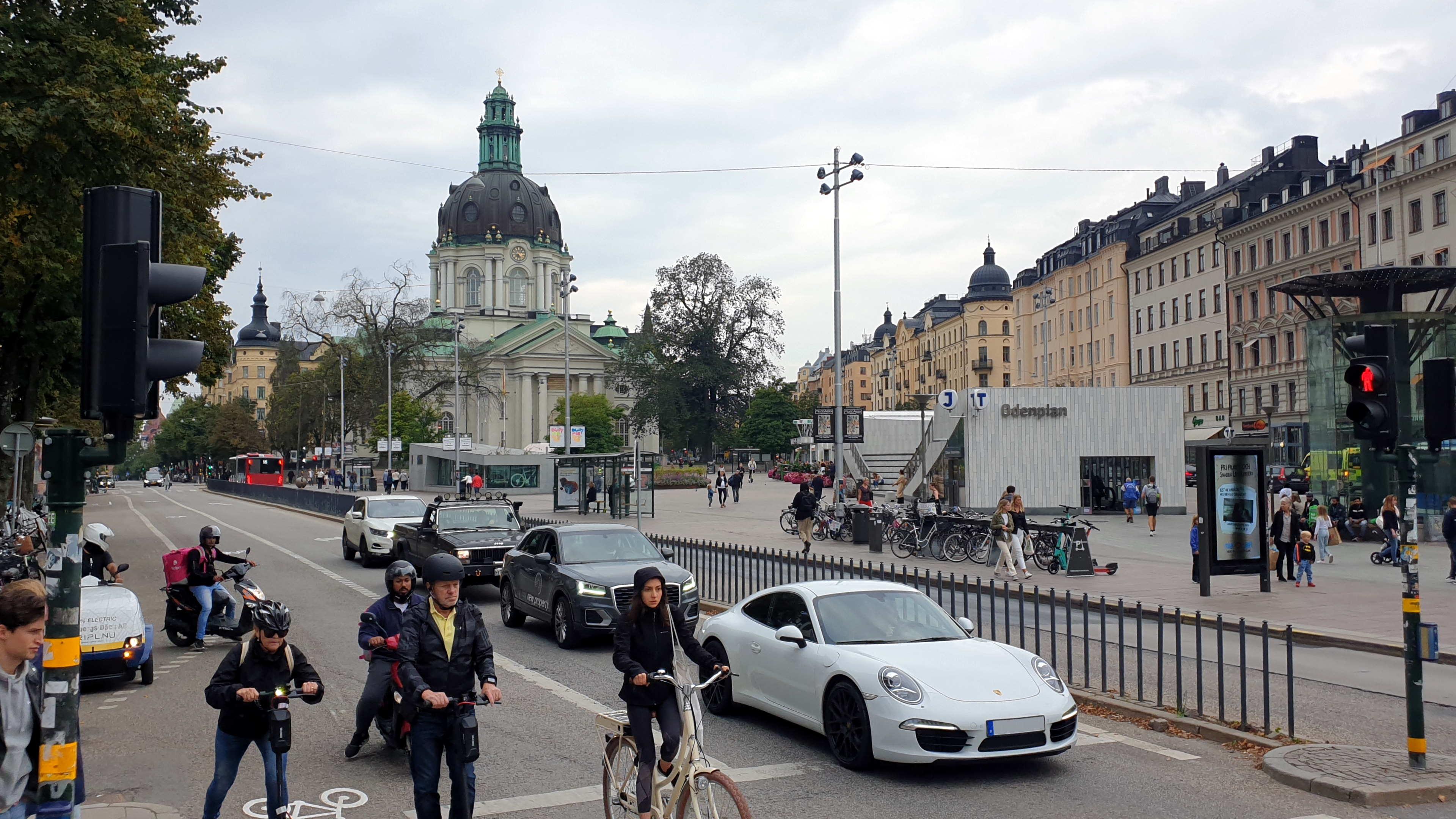 Stockholm, Odenplan, 11 september 2021