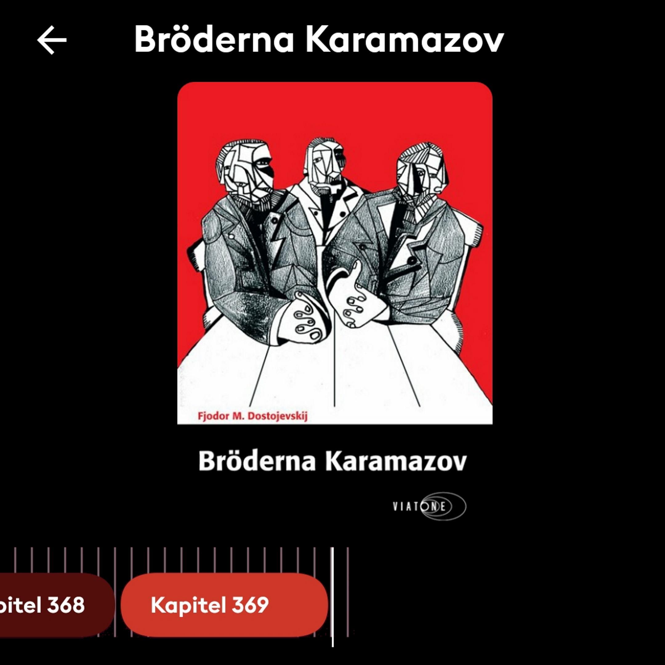 "Storytel, ""Bröderna Karamazov"", 13 september 2021"