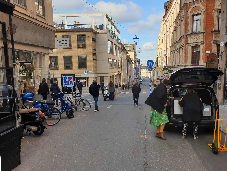 Stockholm Götgatan, flytt till nytt kontor, 13 oktober 2021